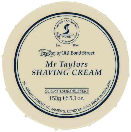 Taylors of Old Bond Street Shaving Cream (150g, Mr Taylors)