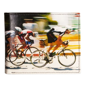 Golunski Cycle Race Design Leather Bi-Fold Wallet