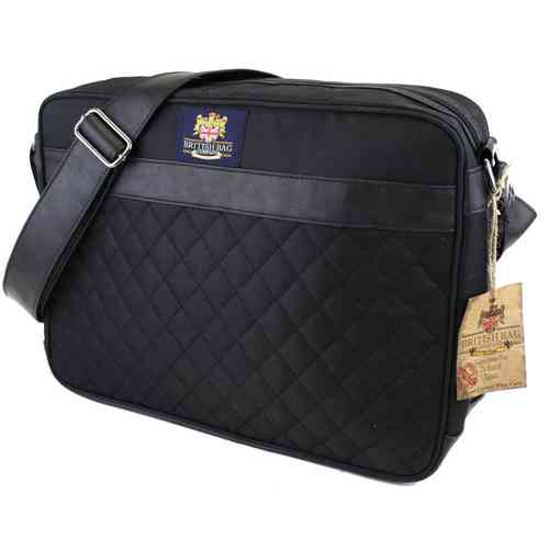 British Bag Company Regent Collection Quilted Airliner Travel Bag