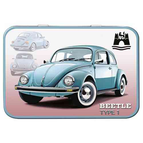 VW Beetle Type 1 Keepsake Metal Tin 11 x 8 x 2cm