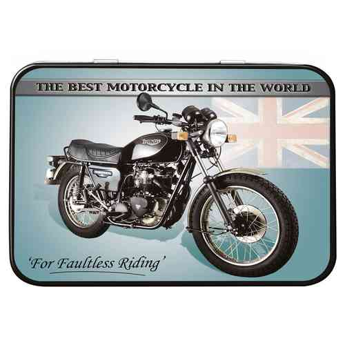 Triumph Thunderbird Keepsake Metal Tin 11 x 8 x 2cm