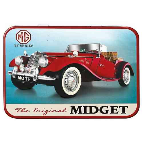 MG TF Midget Keepsake Metal Tin 11 x 8 x 2cm