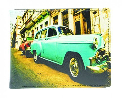 Golunski Cuban Car Design Leather Bi-Fold Wallet