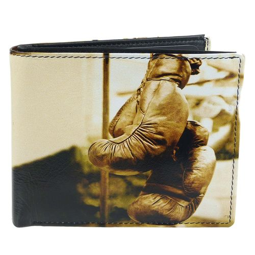 Golunski Boxing Gloves Design Leather Bi-Fold Wallet