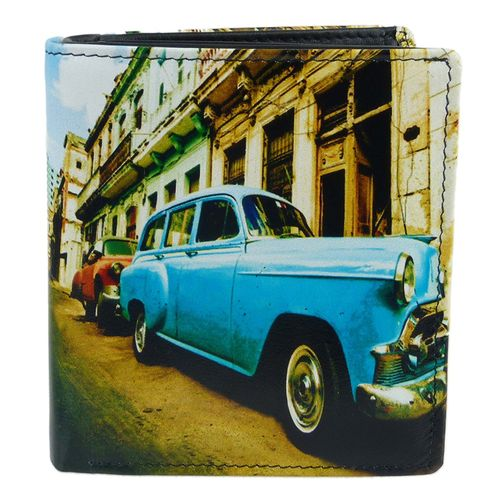 Golunski Cuban Car Design Leather Tri-Fold Wallet