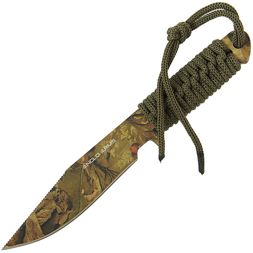 Camo Laced Boot Knife With Sheath (AGED 18 AND OVER ONLY)