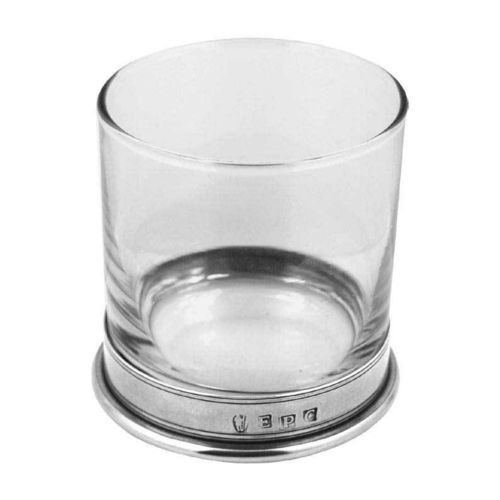 English Pewter Company Vogue Single Tumbler Glass