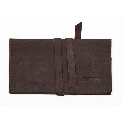Zippo Brown Leather Tobacco Pouch