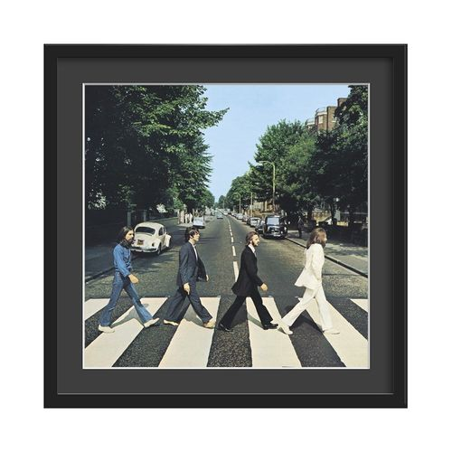The Beatles Large Glazed Framed Authentic Album Art