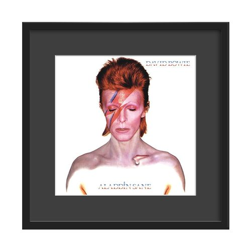 David Bowie Large Glazed Framed Authentic Album Art