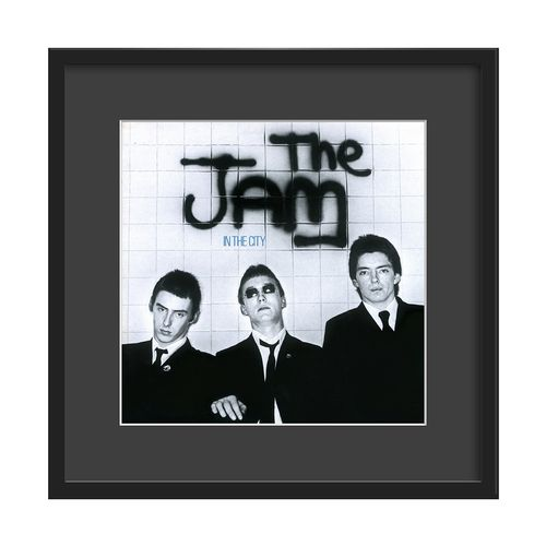 The Jam Large Glazed Framed Authentic Album Art