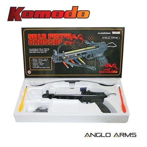 Komodo 50lb Aluminium Pistol Crossbow (AGED 18 AND OVER ONLY)