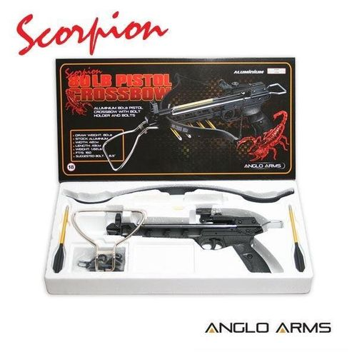 Scorpion 80lb Aluminium Pistol Crossbow (AGED 18 AND OVER ONLY)