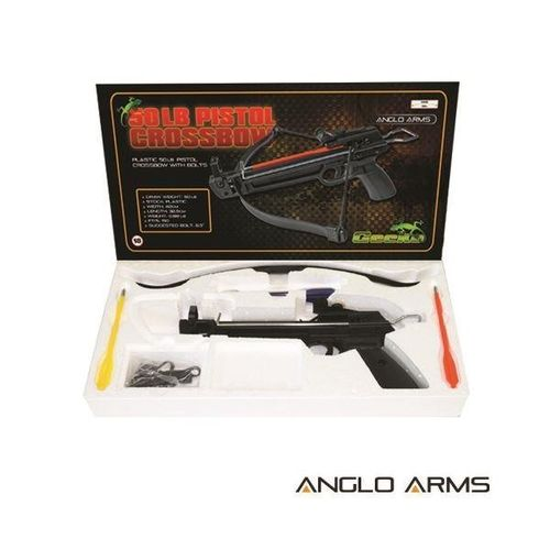Gecko 50lb Plastic Pistol Crossbow (AGED 18 AND OVER ONLY)