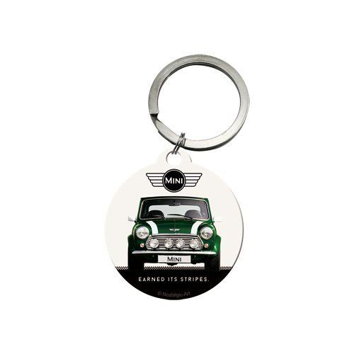 Mini Cooper Metal Keyring With Back Print