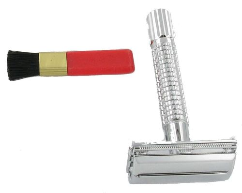 Artamis Chrome Mach 3 Short Safety Razor (AGED 18 AND OVER ONLY)