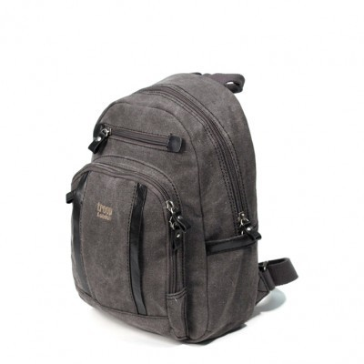 Troop London Classic Canvas Small Backpack In Black
